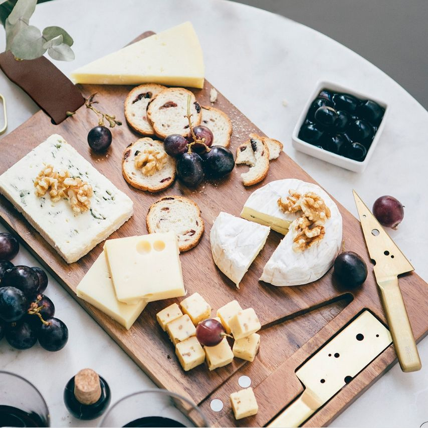 Planche de charcuterie, fromage ou mixte