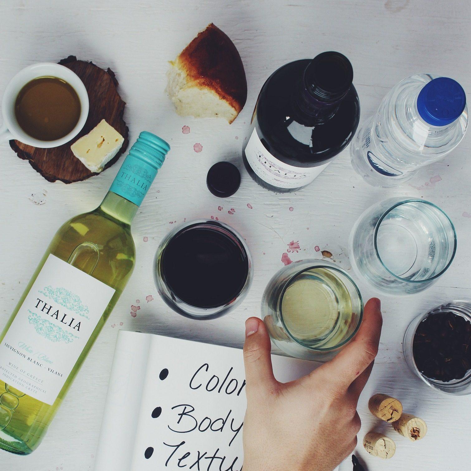 Dégustation de vins privative
